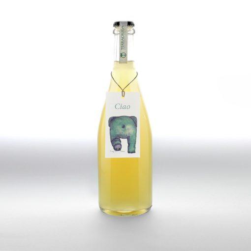 Ciao Spumante rifermentato  in bottiglia Bianchello Metauro.