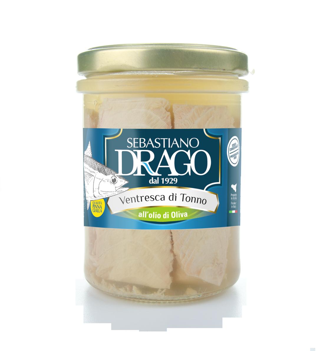 Mokup Drago ventresca