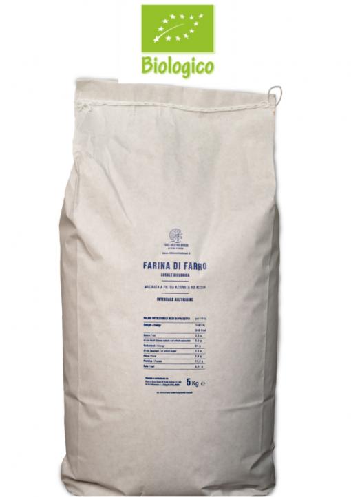 Saccoda5kg farinaintegraledifarro BIO