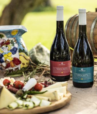 augustali vini linea terzanota bianco e rosso