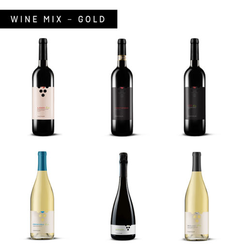 Wine mix gold pack